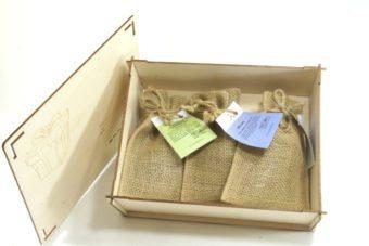 Посылка с чаем в мешочках
