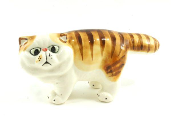 статуэтка-экзотическая-кошка-рыжая