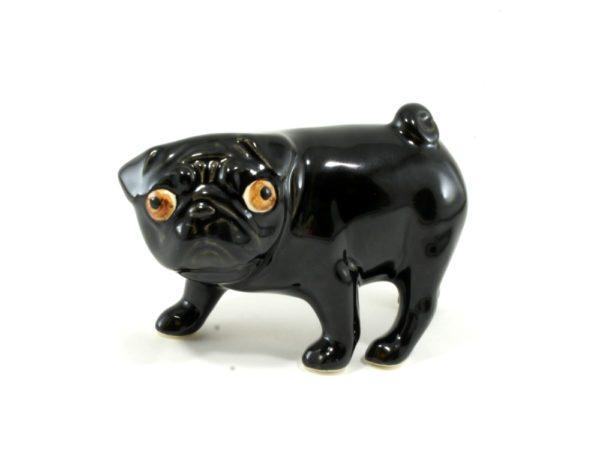 статуэтка-мопс-черный