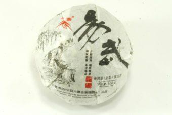 """Шен пуэр """"Йиву"""" точа 100 гр, 2013"""